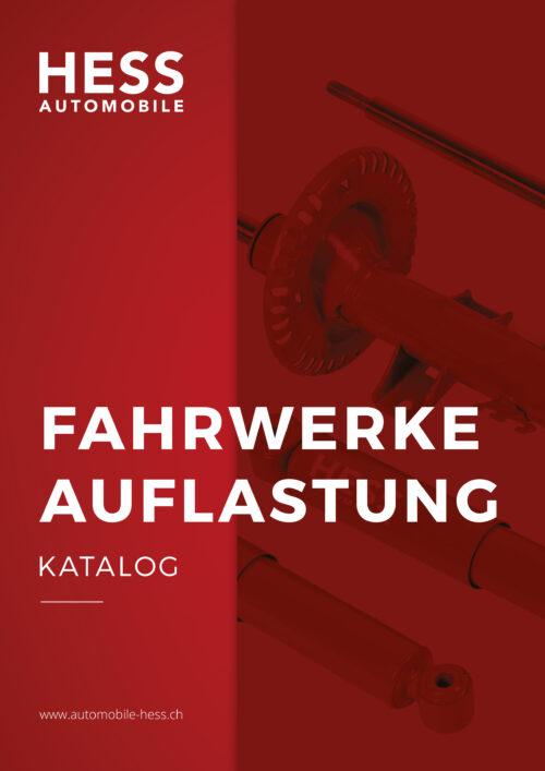 Katalog Auflastung Farhwerk