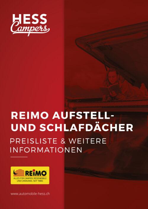 Katalog Reimo Aufstelldach